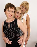 Check three sexy moms launch a lesbian pastime